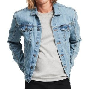 Calvin Klein Light Wash Denim Jean Jacket